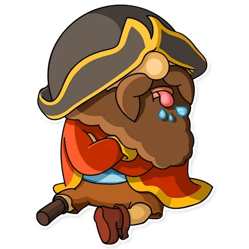 Captain Jack - Sticker 14