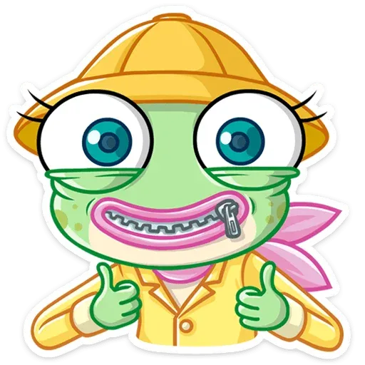 Croak - Sticker 21