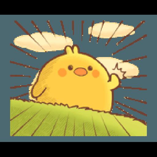 Plump Little Chick 3 - Sticker 9