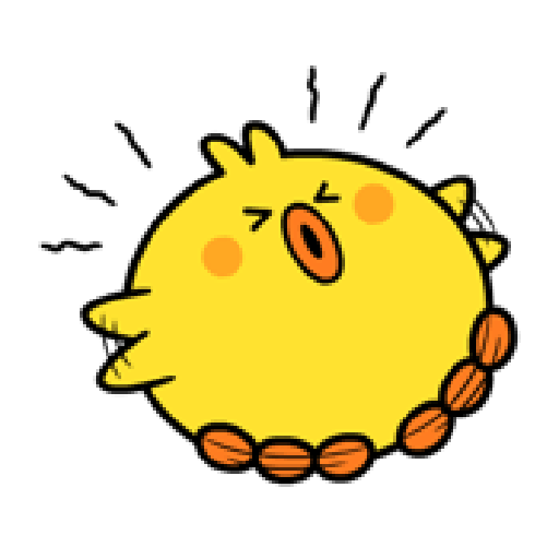 Plump Little Chick 3 - Sticker 3