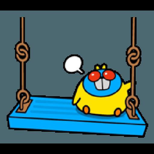 Plump Little Chick 3 - Sticker 24