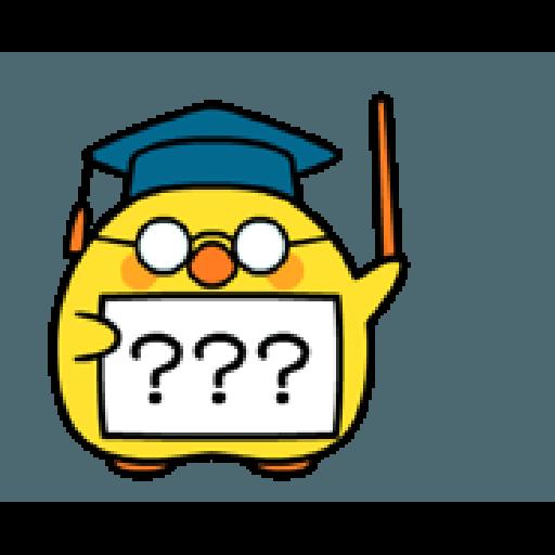 Plump Little Chick 3 - Sticker 19