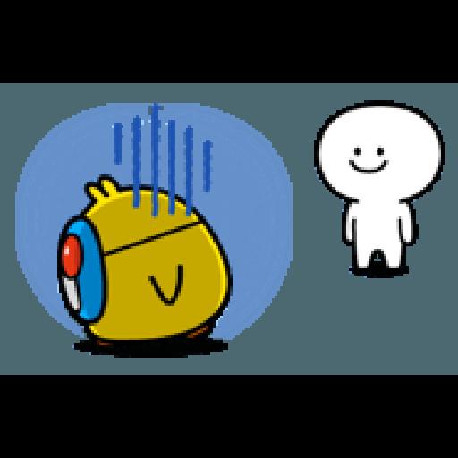 Plump Little Chick 3 - Sticker 7