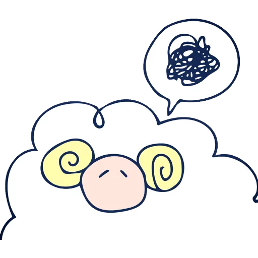 The sheeps - Sticker 4