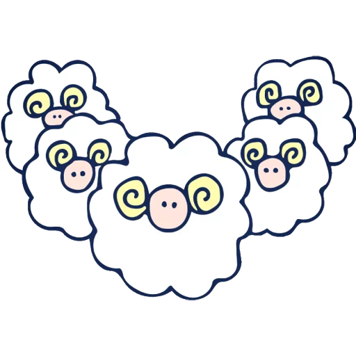 The sheeps - Sticker 23