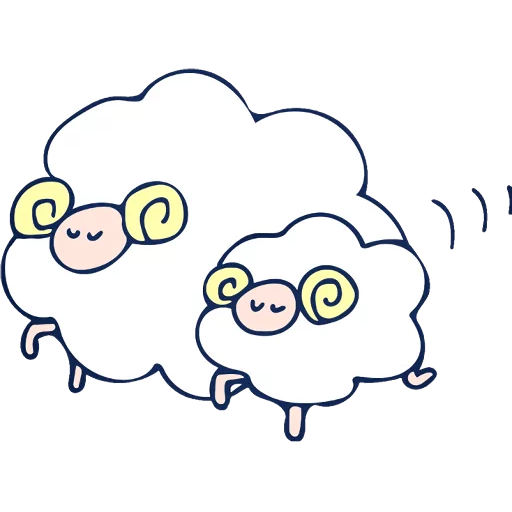 The sheeps - Sticker 26