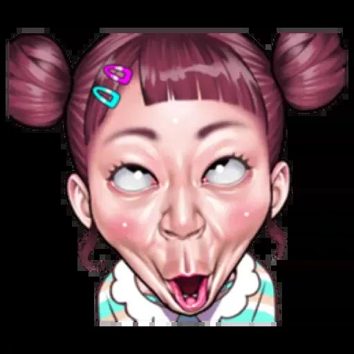 Ugly Girl - Sticker 14