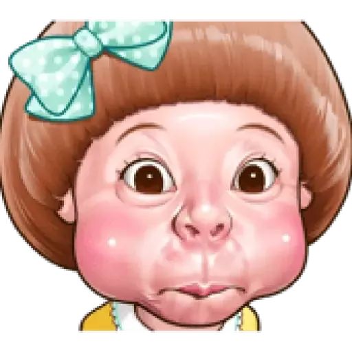 Ugly Girl - Sticker 10