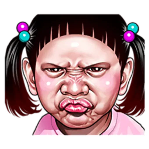 Ugly Girl - Sticker 15
