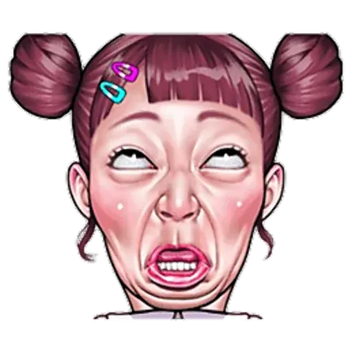 Ugly Girl - Sticker 6