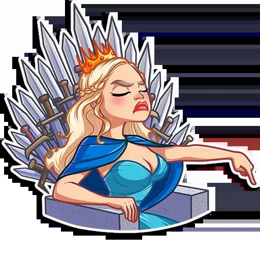 Daenerys Targaryen - Sticker 15