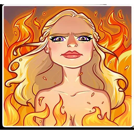 Daenerys Targaryen - Sticker 26
