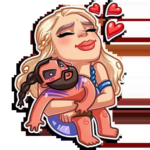 Daenerys Targaryen - Sticker 13