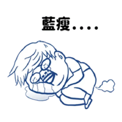 肥宅語錄 - Sticker 13