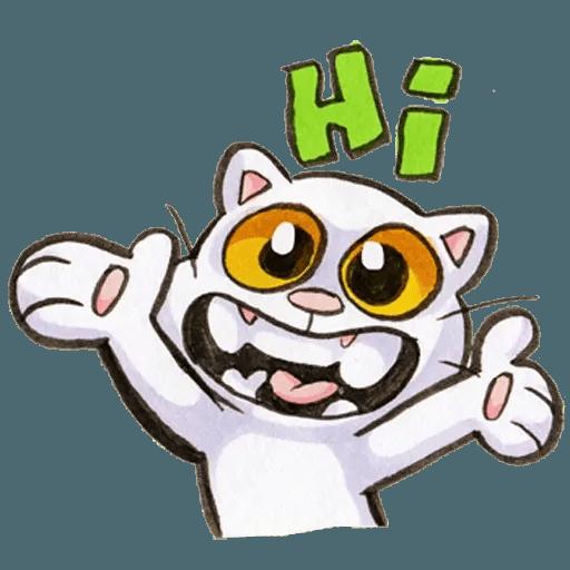 Yappy Cat - Sticker 17