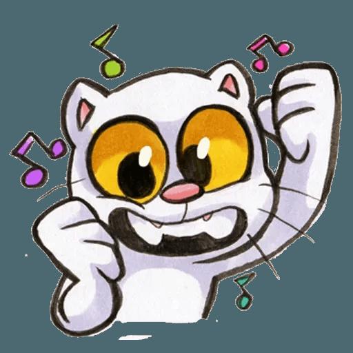 Yappy Cat - Sticker 30