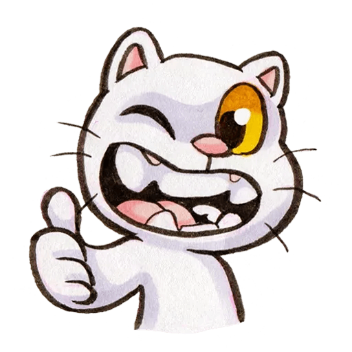 Yappy Cat - Sticker 1