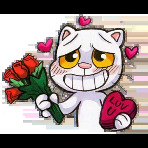 Yappy Cat - Sticker 29
