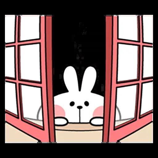 Spoiled rabbit 暴力互動版 2 - Sticker 10