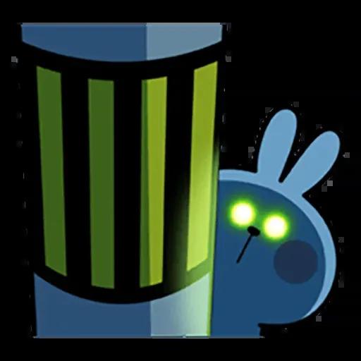 Spoiled rabbit 暴力互動版 2 - Sticker 14