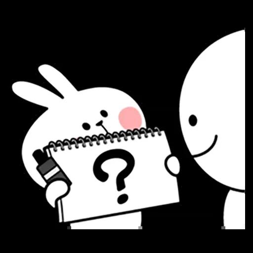 Spoiled rabbit 暴力互動版 2 - Sticker 8