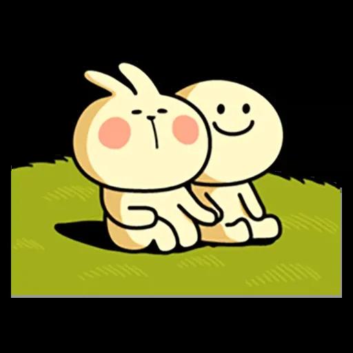 Spoiled rabbit 暴力互動版 2 - Sticker 20