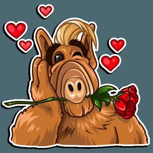 Alf - Tray Sticker