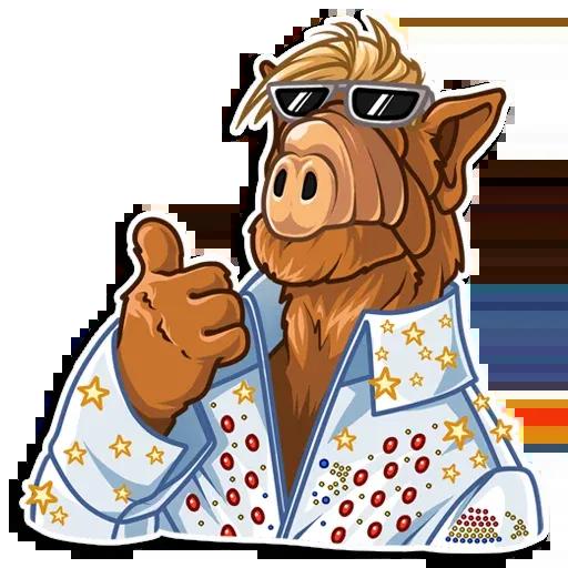 Alf - Sticker 4