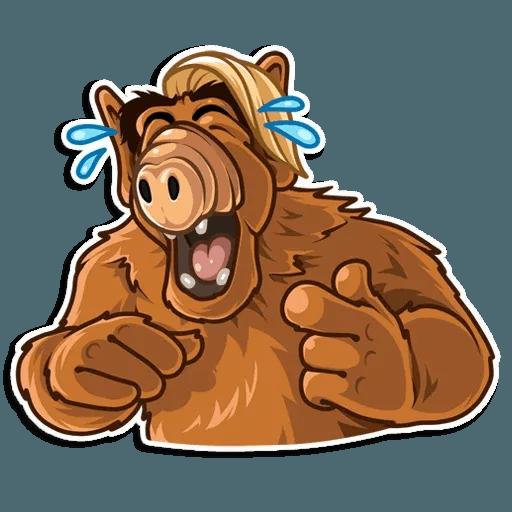 Alf - Sticker 2