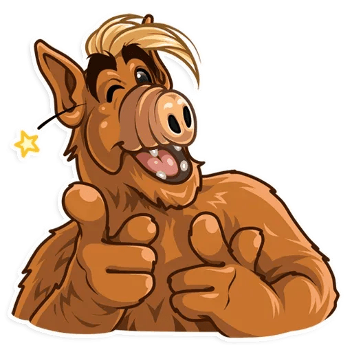 Alf - Sticker 6