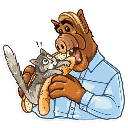 Alf - Sticker 10