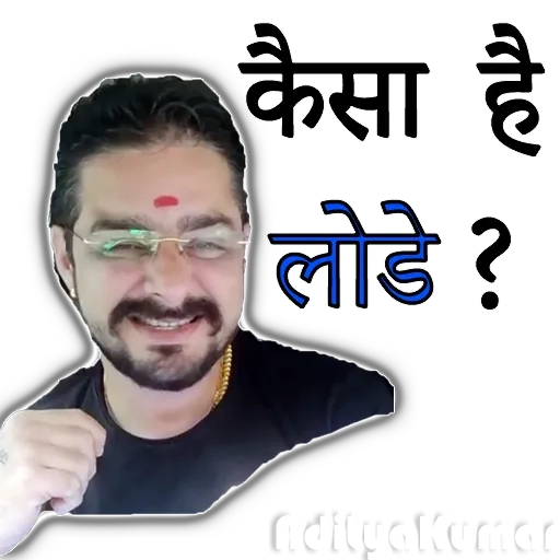 Hindustani bhauu - Sticker 10