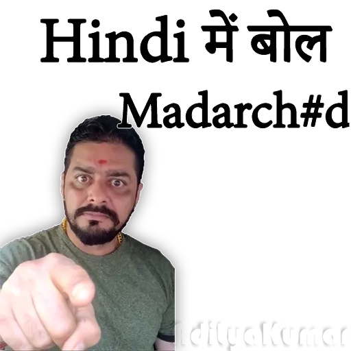Hindustani bhauu - Sticker 3