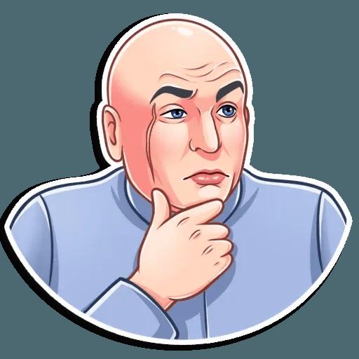 Dr. Evil - Sticker 22