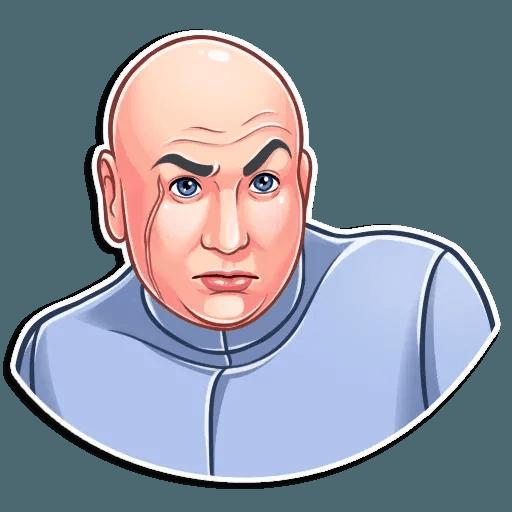 Dr. Evil - Sticker 11