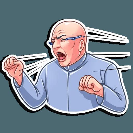 Dr. Evil - Sticker 18