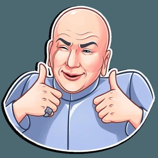 Dr. Evil - Sticker 4