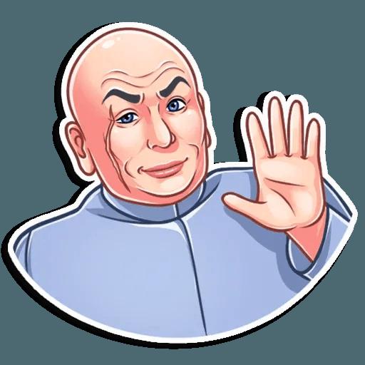 Dr. Evil - Sticker 6