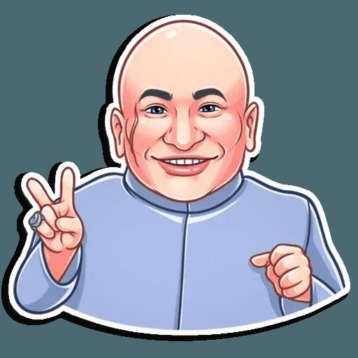 Dr. Evil - Sticker 17