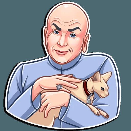 Dr. Evil - Sticker 9