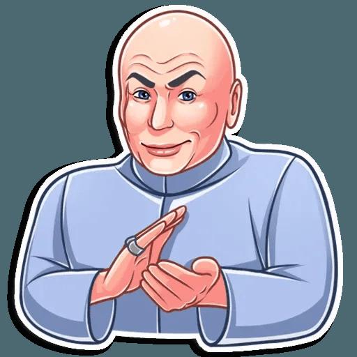 Dr. Evil - Sticker 19
