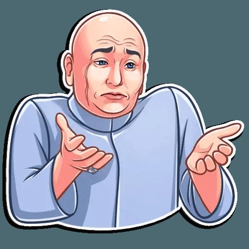 Dr. Evil - Sticker 8