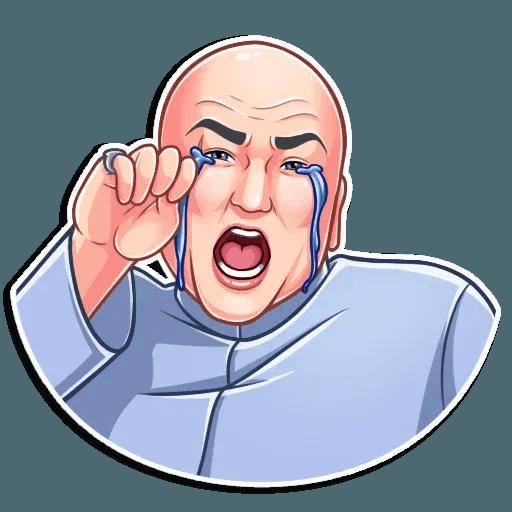 Dr. Evil - Sticker 7