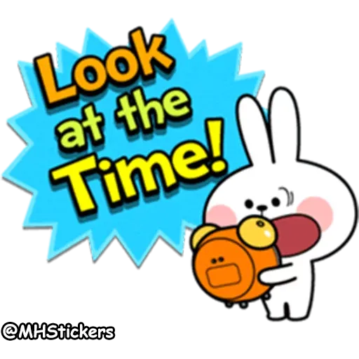 Rabbit - Tray Sticker