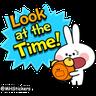 Rabbit - Tray Sticker