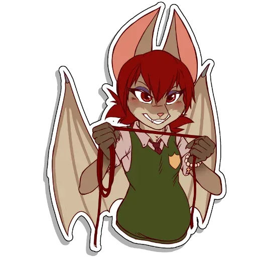 Batty - Sticker 29