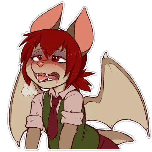 Batty - Tray Sticker