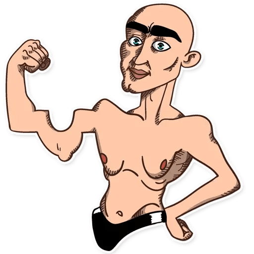 A Man - Sticker 25