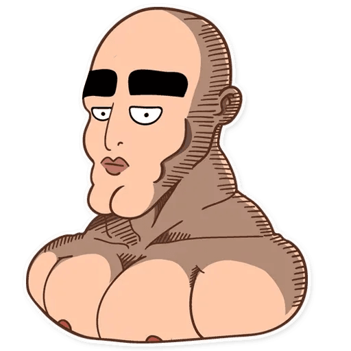 A Man - Sticker 3