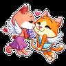 Cupid Cat - Tray Sticker